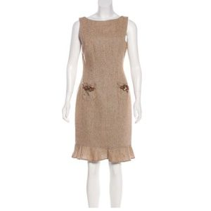 David Meister Tweed Dress